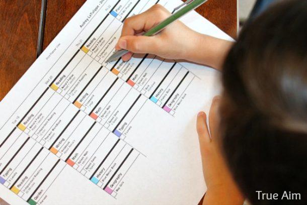 easy-online-lesson-planner