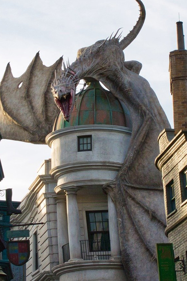 hogwarts dragon