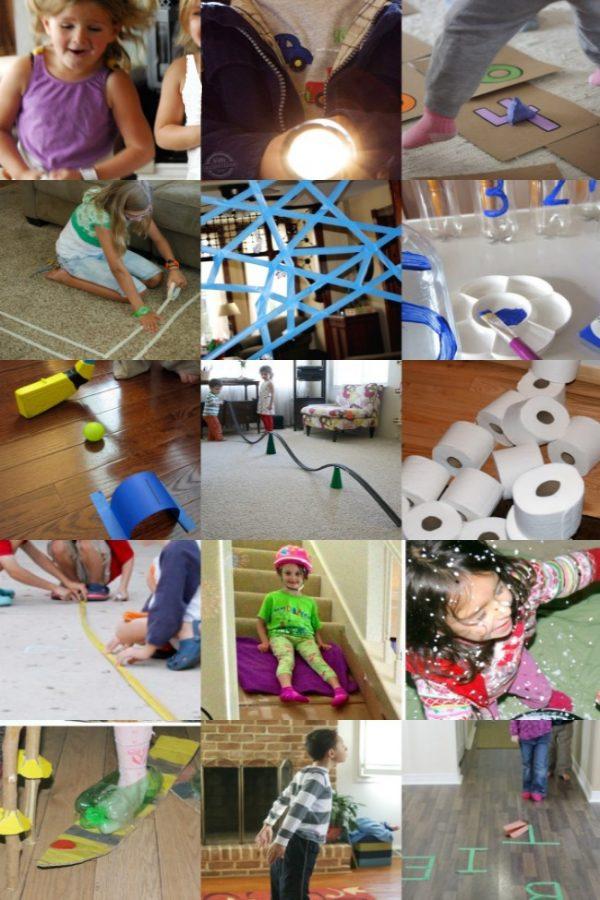 30+ jeux d'intérieur pour les enfants à jouer à l'intérieur