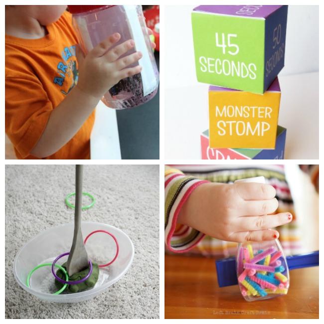 social distancing no mess kids activities