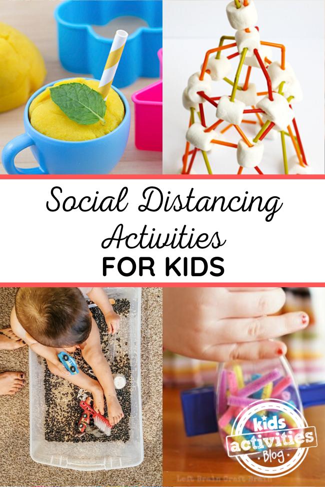 social distancing activities kids 1