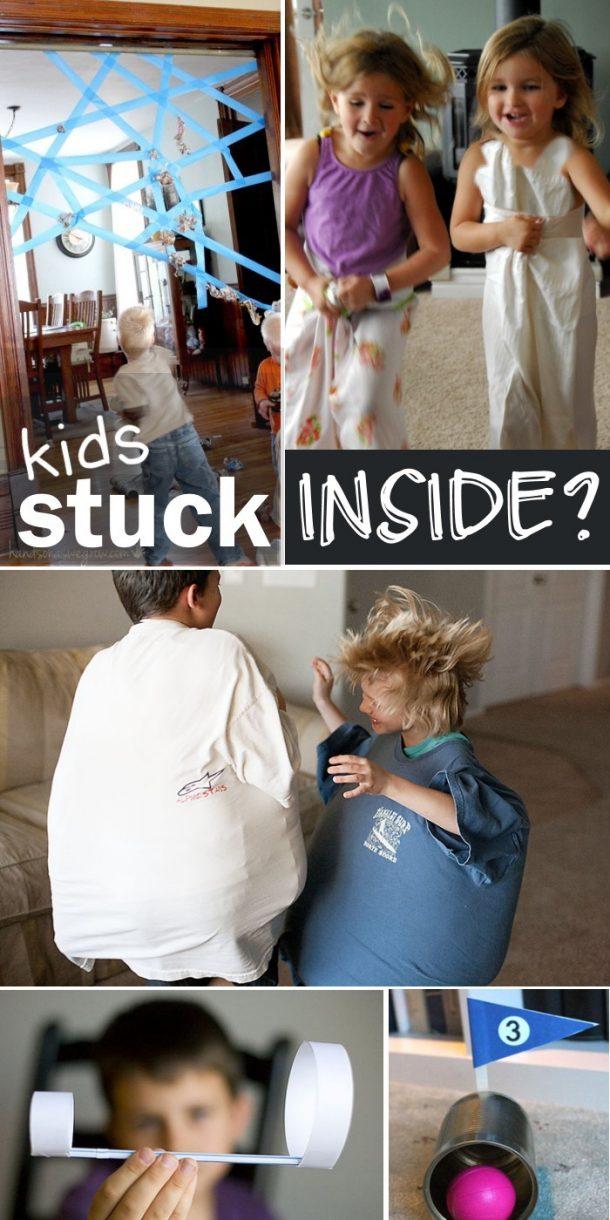 Plus de 30 jeux d'intérieur pour les enfants à jouer à l'intérieur