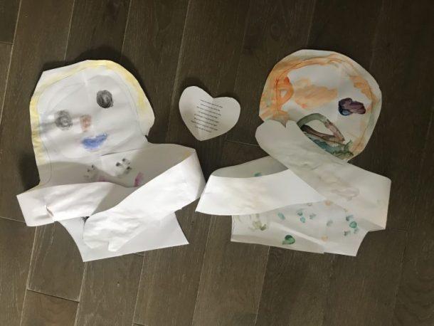 Paper hug craft