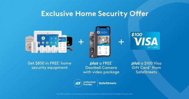 Safe at Home SafeStreets Home Security System