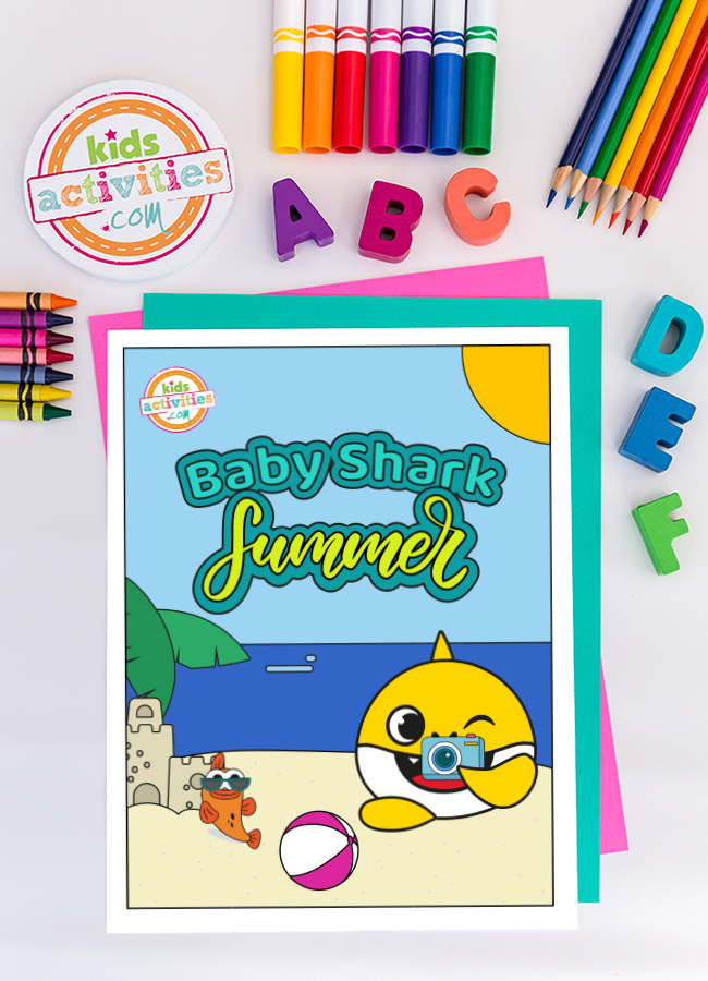 Baby Shark Summer 2020 Printables