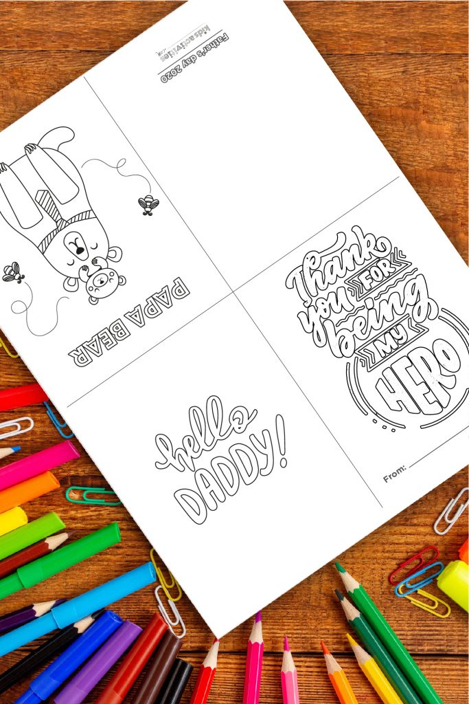 Free Father's Day Printable Cards 2021