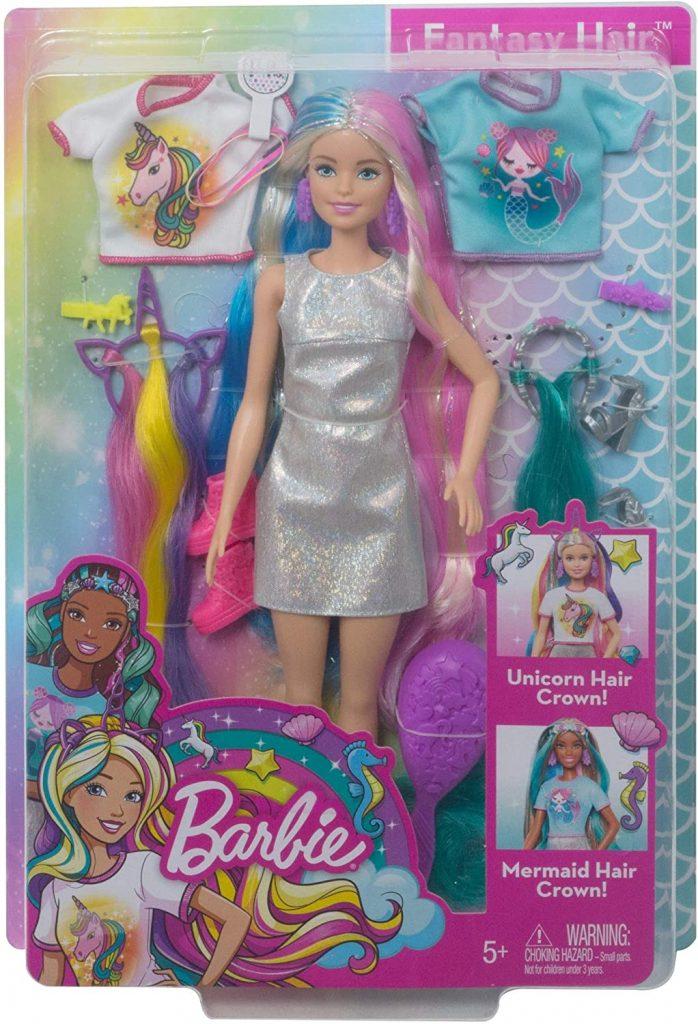 Barbie Fantasy Hair Doll in box