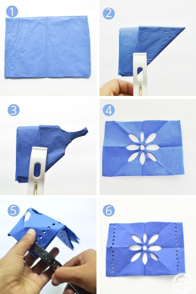 Includes step by step pictures on how to make papel picado day of the dead banner