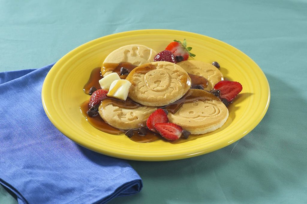 Zoo Friends Pancakes on Plate on Table