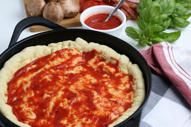 Iron Skillet Pizza