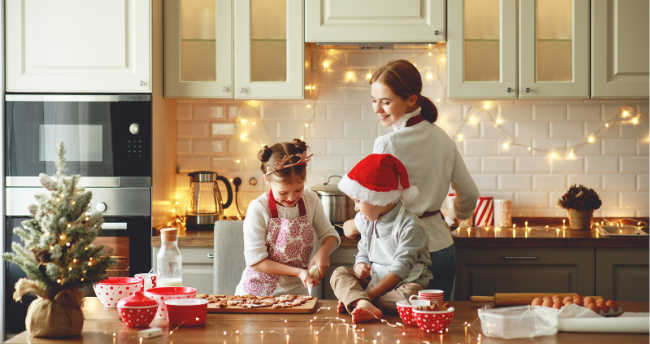 Make Christmas treats with your family so you can have the best sweet snack with the Hallmark Movies you're about to watch. Christmas cookies are the best option for this.