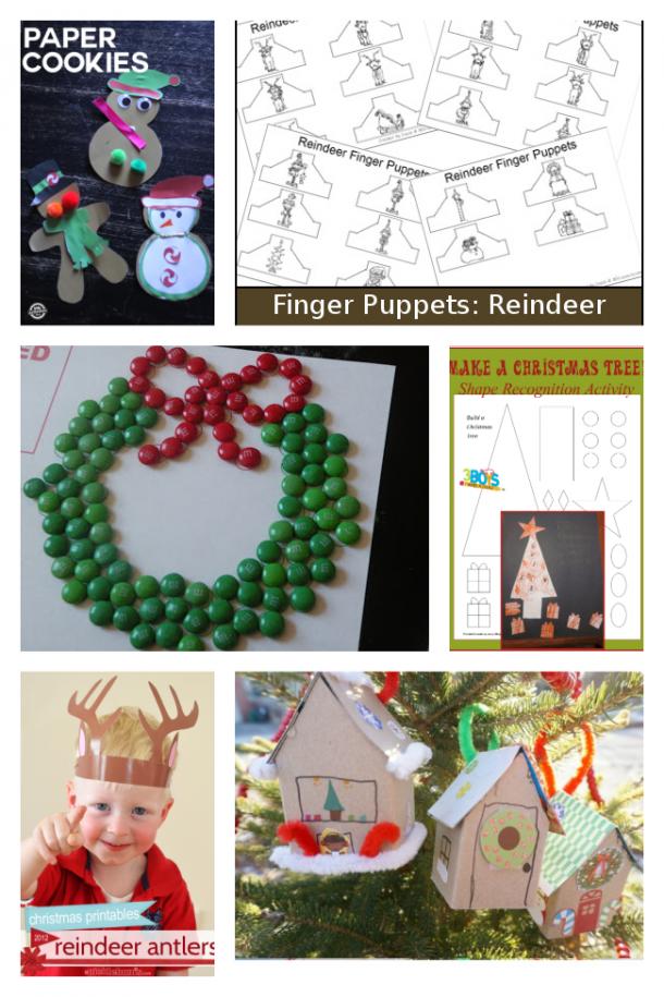 Christmas Printable Crafts