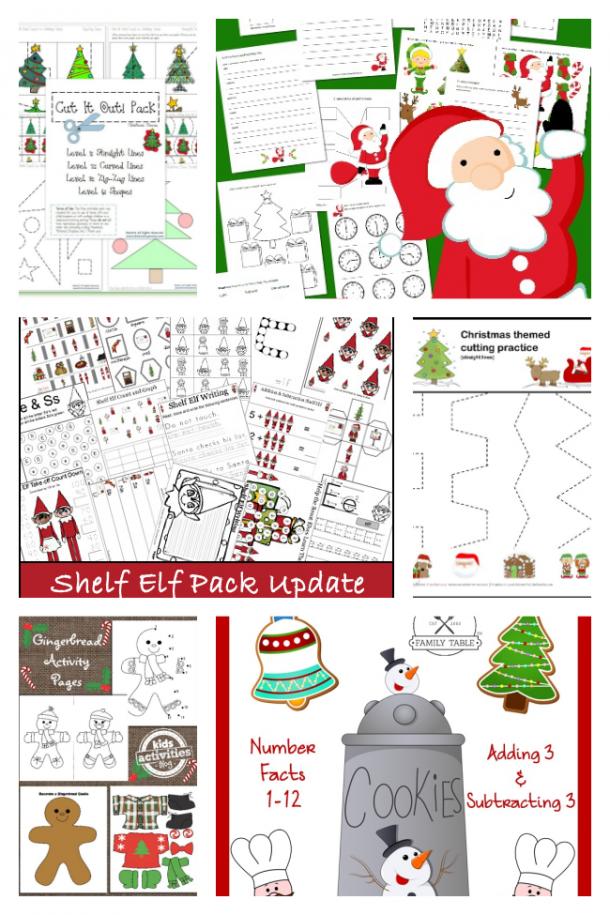 Educational Christmas Worksheets