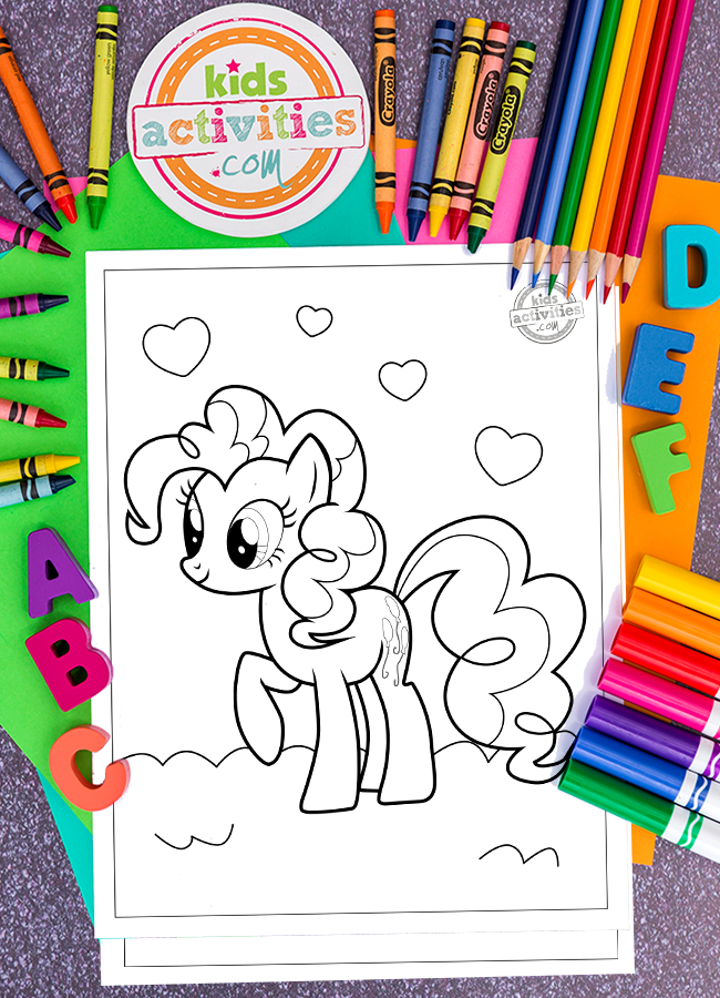 my little pony equestrial girls coloring pages
