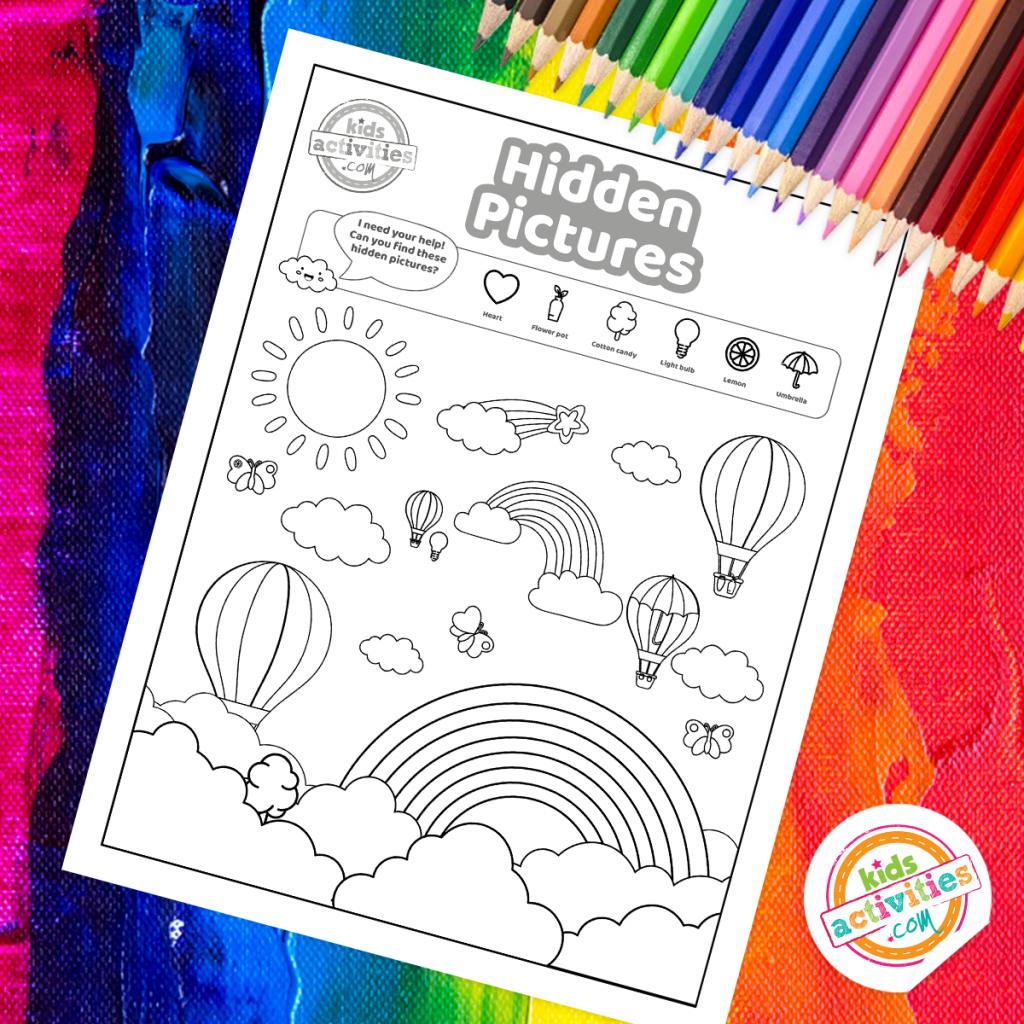 rainbow activities for preschoolers