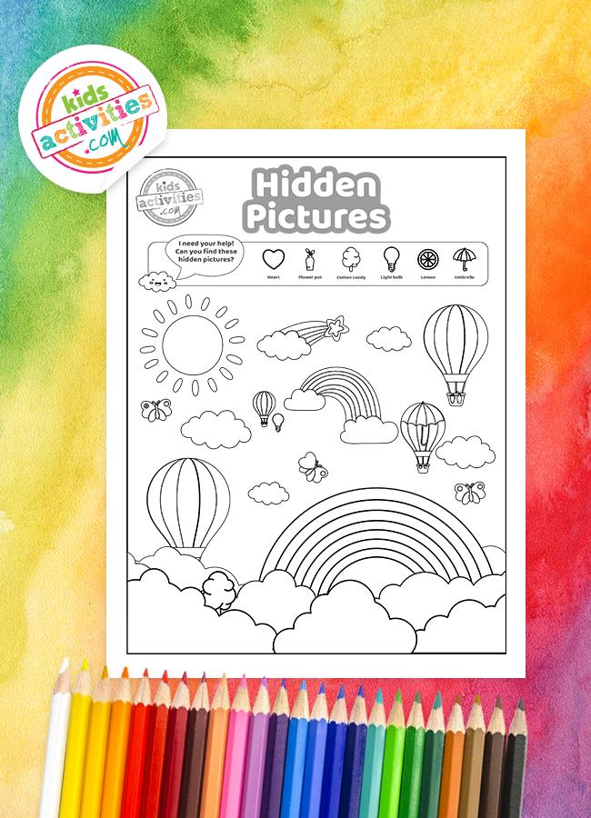 hidden picture games