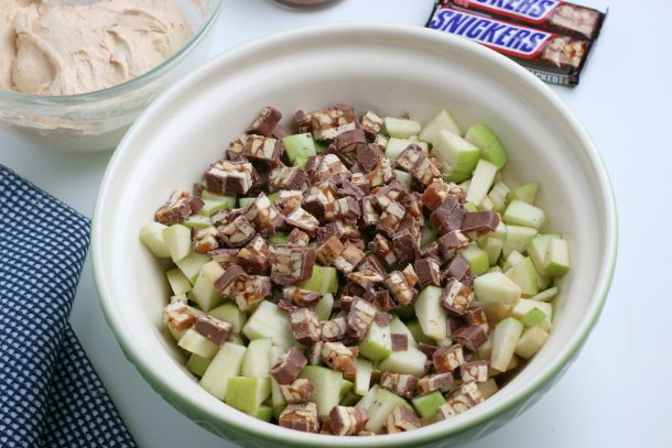 Easy Snickers Salad Recipe