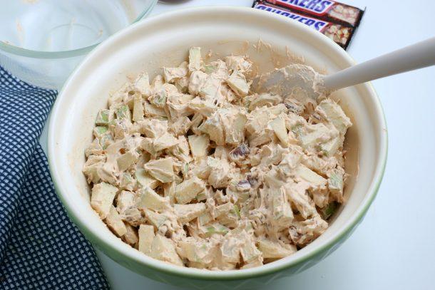 Easy Snickers Salad Recipe