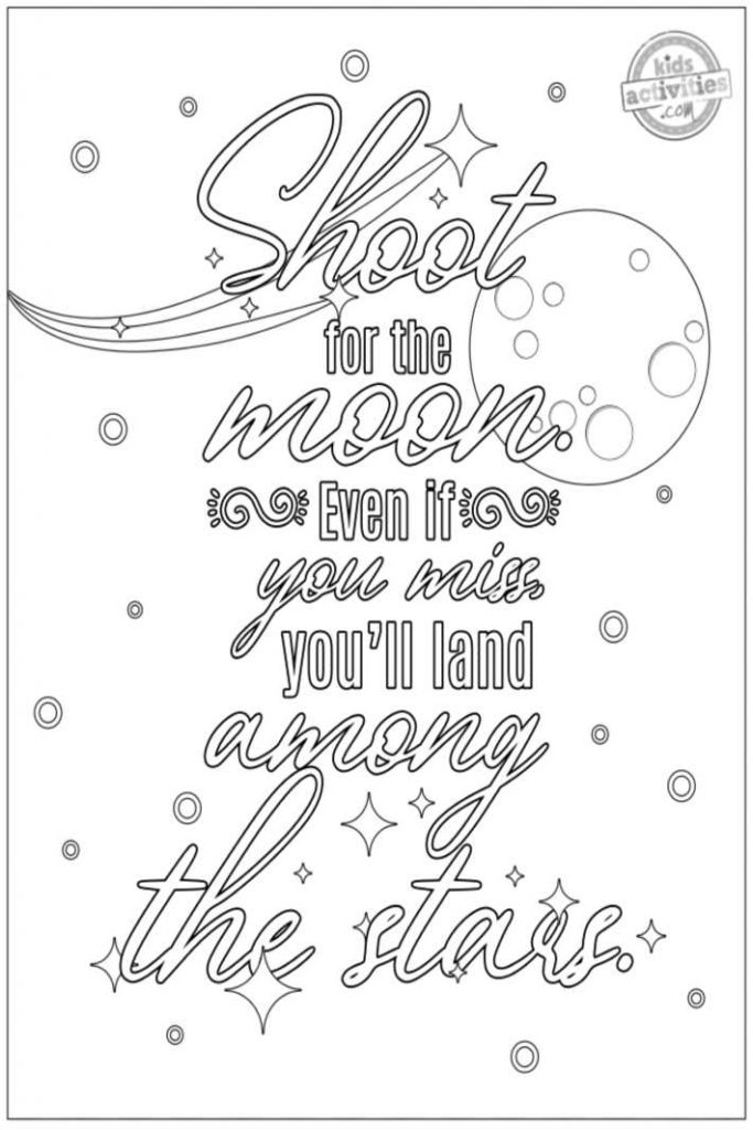 Best Motivational Quote Coloring Pages For Adults - ToysMatrix