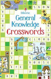 Usborne general knowledge crossword puzzle book cover art
