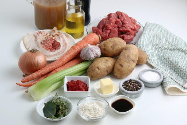 Easy Irish Beef Stew - Ingredients