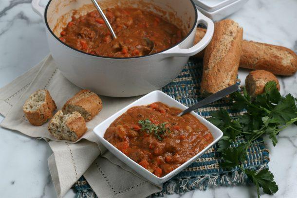 Easy Irish Beef Stew - Step serve warm and enjoy!