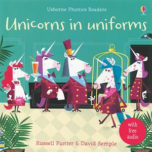 Unicorns in Uniforms letter u book