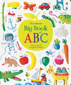 Usborne Big Book of ABC book cover art