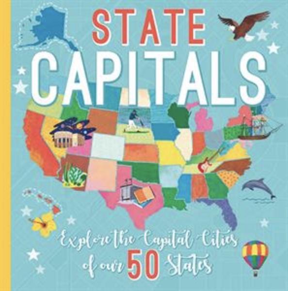 Book cover of Usborne State Capitals