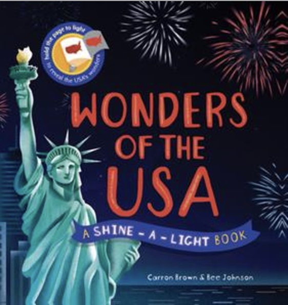 Usborne Wonders of the USA Shine a Light cover picture