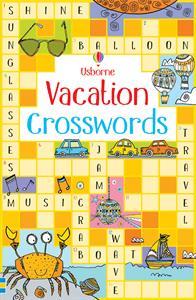 Usborne vacation crossword puzzle book