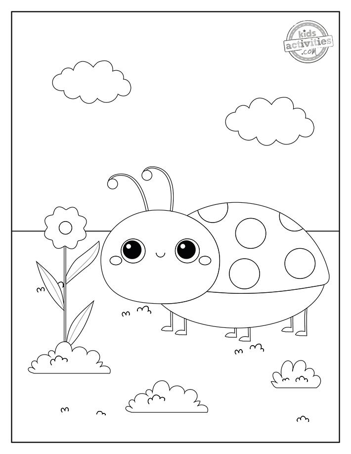 Dibujos de Ladybug para colorear