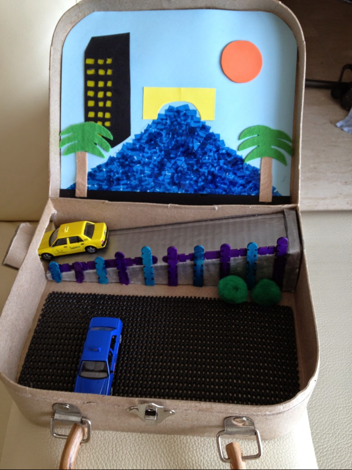 cars travel sensory suitcase from Wugs and Dooey