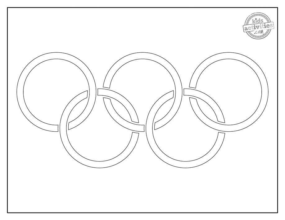 Olympic Coloring Pages Screenshot 2