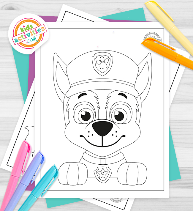 Paw Patrol Coloring Pages Feature Image Feature