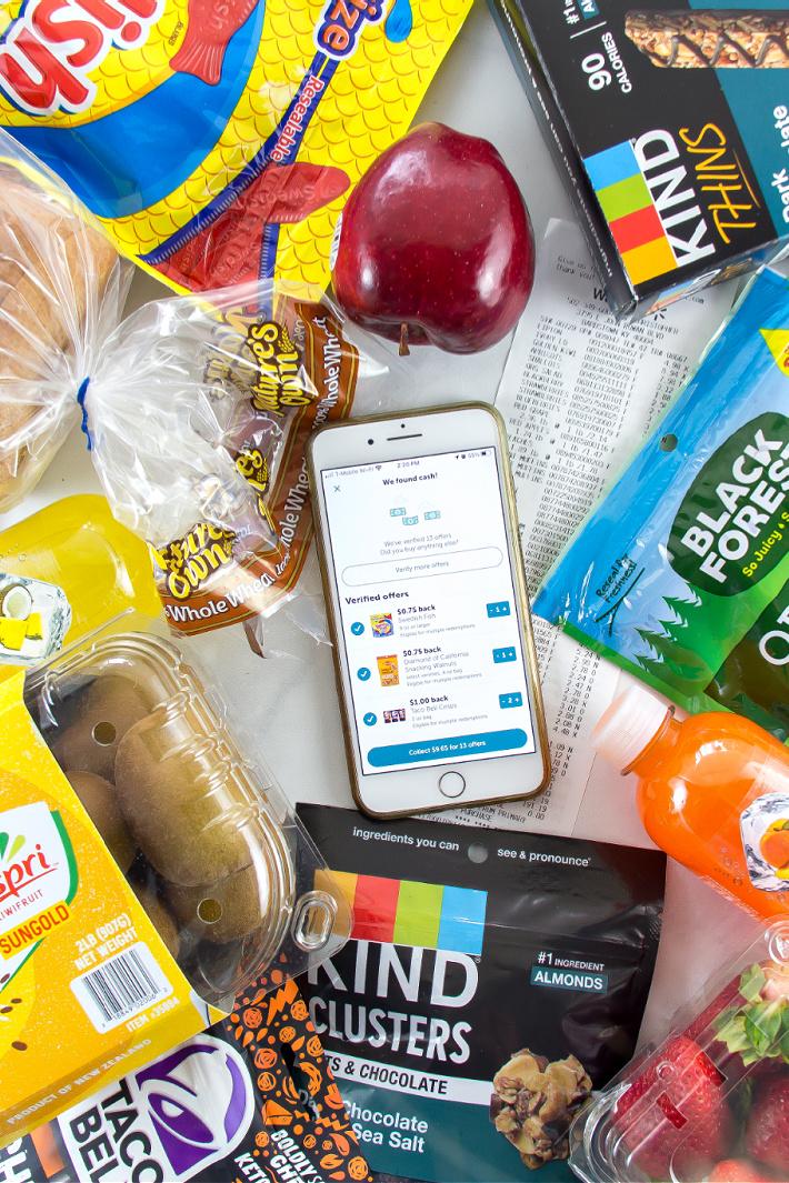 Get cash back on snacks for your summer road trip.