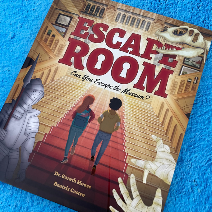 Escape Room Book - Can you Escape the Museum - Kids Activities Blog