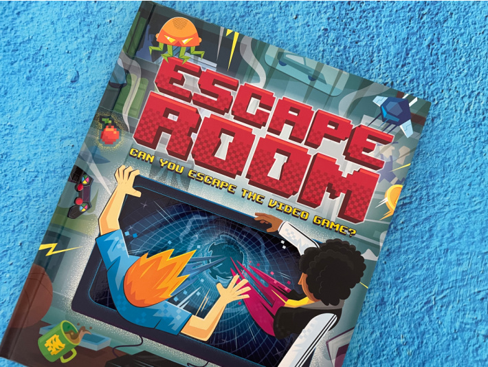 Escape Room Book - Escape From The Video Game - Kids Activities Blog