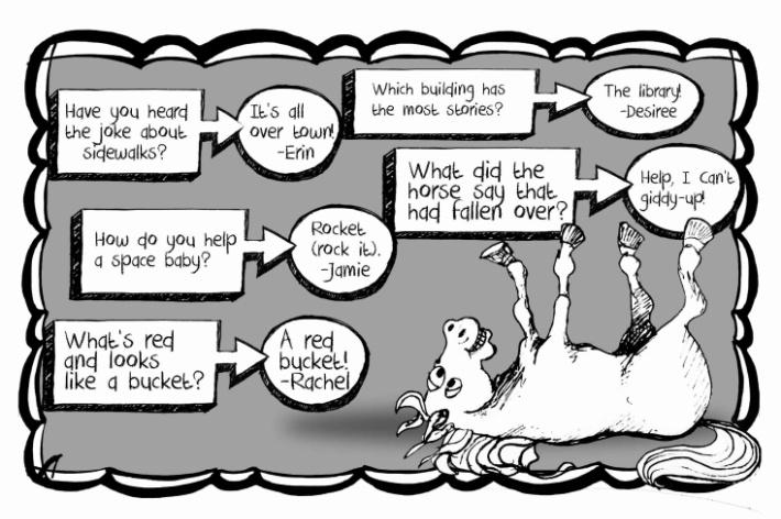 Little Horse That Fell Over Joke For Kids - Kids Activities Blog Silly Joke eBook