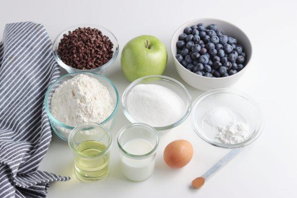 Receta fácil de muffin de manzana y canela
