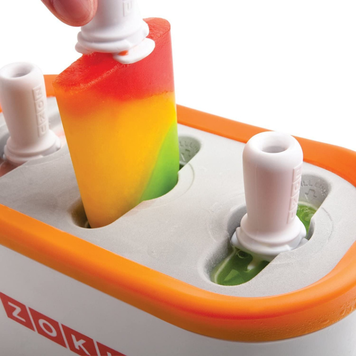 Zoku popsicles from Amazon - frozen popsicles from a fast pop maker
