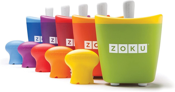 zoku Single Pop Maker from Amazon - 5 Single Pop Makers with expansion bulb
