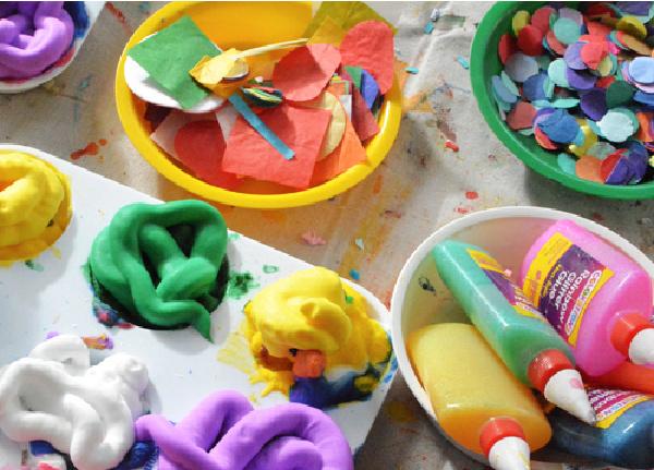 Art supplies needed for process art from Meri Cherry - Kids Activities Blog
