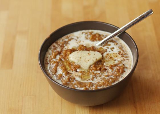 Pumpkin overnight oats from Sweet Anna