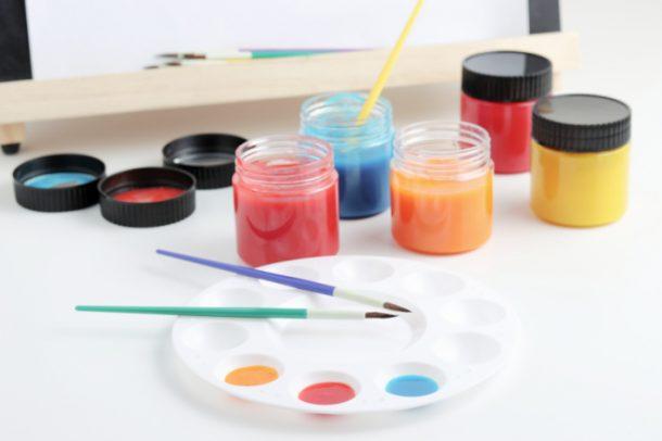 The Best Homemade Craft Paint Recipe