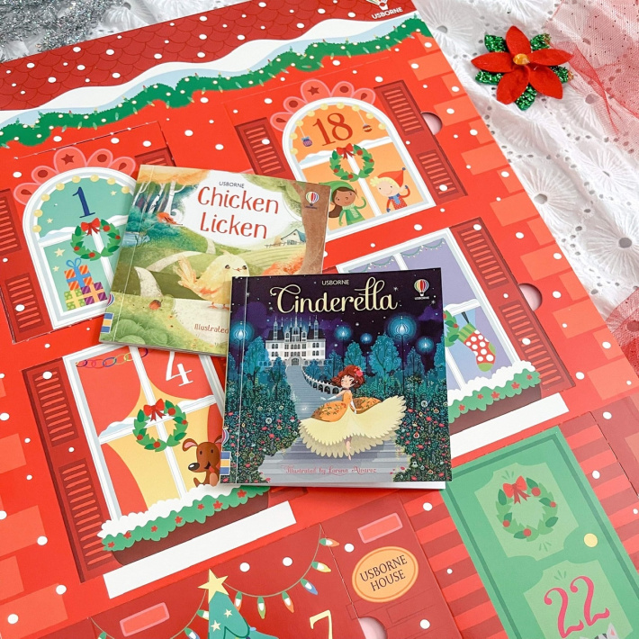 Each day of the advent calendar has a book to read - Kids Activities Blog